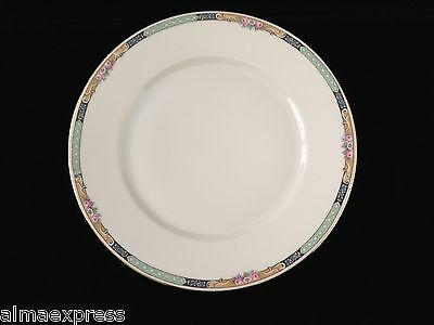 "Gimbel Brothers KPM Bavaria Germany China 27044-4576 Roses 9-1/2"" DINNER PLATE"
