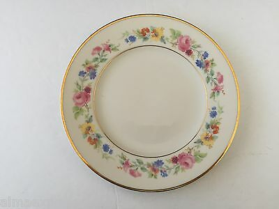 "Syracuse China CLIFTONDALE Old Ivory Multicolor Flowers - 8"" SALAD PLATE"