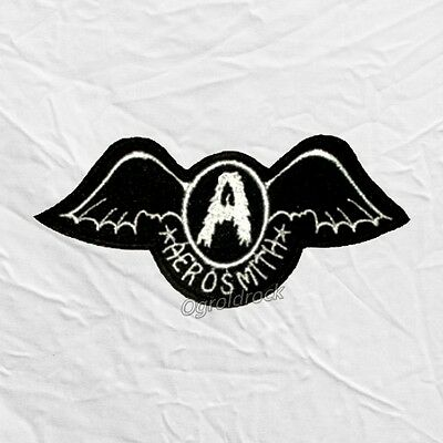 Aerosmith Get Your Wings Logo Embroidered Patch Rock Band Steven Tyler Joe Perry