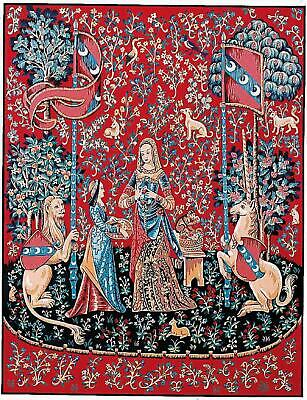 Margot de Paris Tapestry/Needlepoint Kit – Lady and the Unicorn by Atlascraft