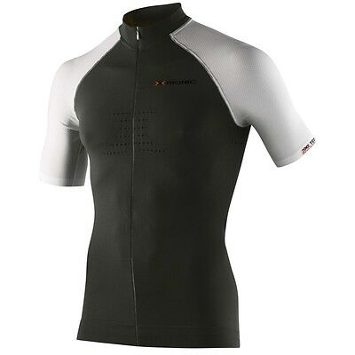 Maglia Biking Race Bt Shirt Short Turtleneck Full Zip Men X-Bionic
