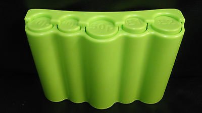 Coin Holder / Money Dispenser Green For Bus Taxi Cab Change Fast Delivery