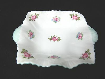 SHELLEY ROSEBUD NUT CANDY PIN DISH 13426