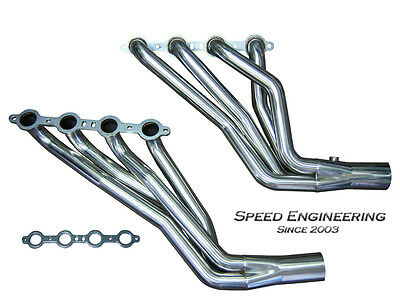 """Chevy & GMC Truck 1 7/8"""" Longtube Headers 1999-06 (4.8L, 5.3L, 6.0L Engines)"""