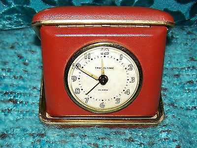 Vintage Traveltime  alarm clock from Ever Bright Watch co.