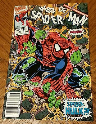 Web Of Spider-Man #70 Vol.1 Vf/nm