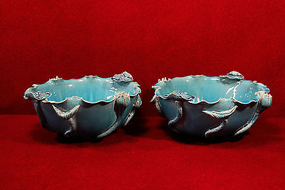 Chinese Blanc de chine  Bowls  Wai Ming Turquoise
