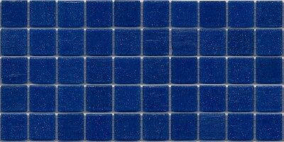 50pcs VTC59 Navy Blue Bisazza Vetricolor Glass Mosaic Tiles 2cm x 2cm