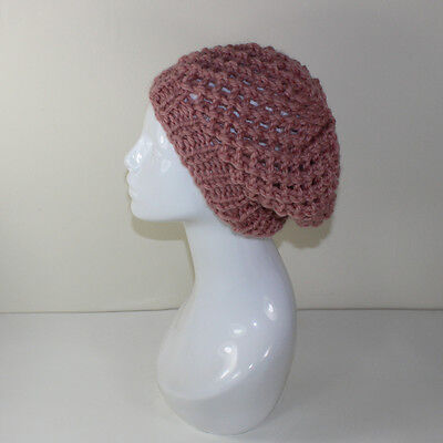 Printed Knitting Instructions-Super Chunky Lace Beret Hat Knitting Pattern