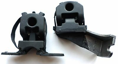 2 PEUGEOT 307 Estate Exhaust Repair Mount Rubber Mounting Hanger Fitting Support