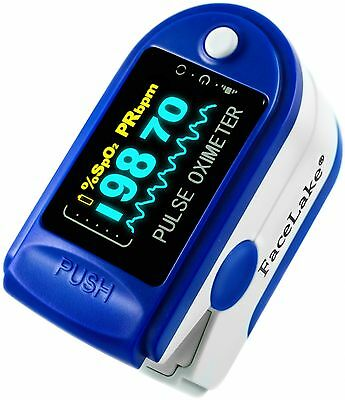 FL350 Pulse Oximeter, Blue