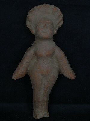 Ancient Teracotta Roman Naked Lady Figure 200 BC