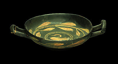 Ancient Greek Kylix with swan