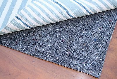 Durahold Non Slip Rug Pad - Multiple Sizes- Rectangle- Felt and Rubber Rug Pad