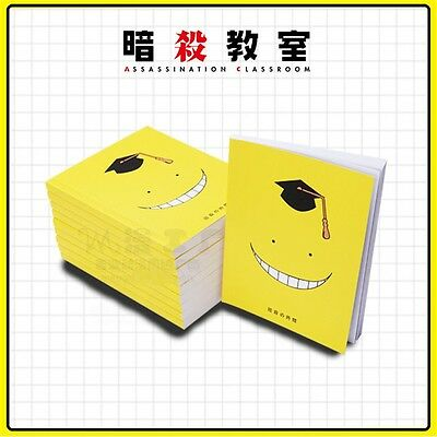 New Anime Cute Face Notebook Assassination Classroom Korosensei Diary Memo Paper