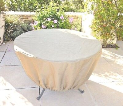 "Patio Outdoor Garden Dining Picnic Round Table Cover 50""Dia Outdoor Furniture"