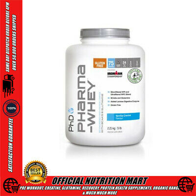 PhD NUTRITION PHARMA WHEY - WPI + WPC PROTEIN BLEND - MEAL REPLACEMENT