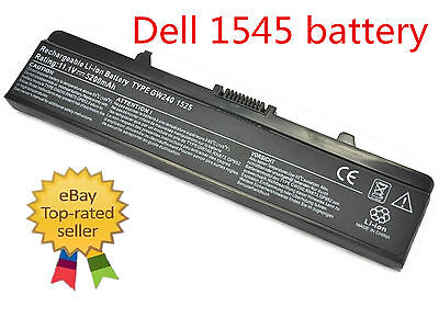 New 5200mAh Laptop Battery for Dell Inspiron 1525 1526 1440 1545 1546 1750 GW240