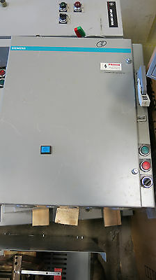 Siemens Size 3 600 Volt Combo Mag Starter Fusible