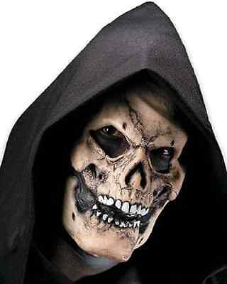 Bones Skull Skeleton Grim Reaper Scary Halloween Costume Makeup Latex Prosthetic
