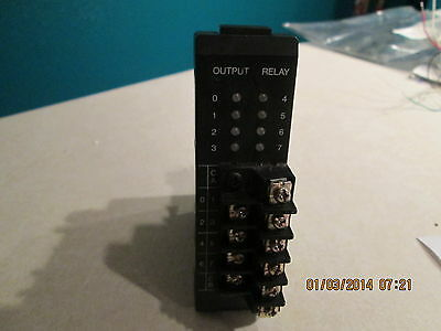 GE Fanuc IC610MDL180A Relay Output Module