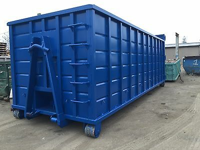 40yd. Hooklift Rolloff Dumpsters Waste Roll off Container