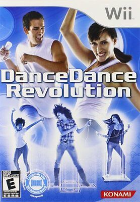 Dance Dance Revolution WII , New, Free Shipping