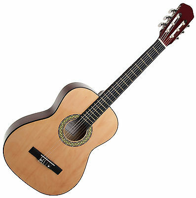 Classic Cantabile Wooden Acoustic Guitar 3/4 Size Classical Guitar Nylon Strings
