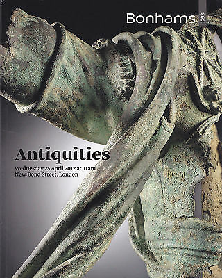 Antiquities auction catalog Bonhams 2012