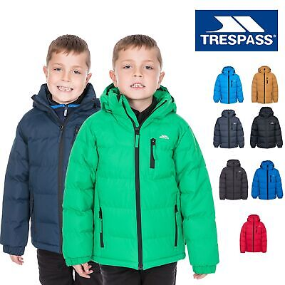 Trespass Tuff Boys Padded School Jacket Childrens Warm Winter Casual Coat