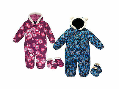 Trespass BYE BYES Baby Boys Girls Waterproof Padded All In One Snow Suit Snowsui