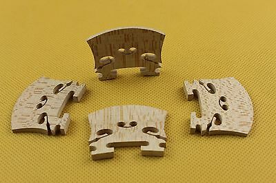 10 pcs high quality baroque style Violin Bridges 4/4 maple wood