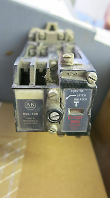 Allen Bradley 700P400A1/700-PLLA1, AC Relay with Mechanical Latch