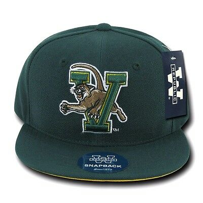 613573b480d University of Vermont UVM Catamounts NCAA Flat Snapback Baseball Ball Hat  Cap