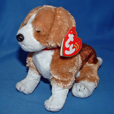 Ty Beanie Baby Side Kick - MWMT (Dog 2002)