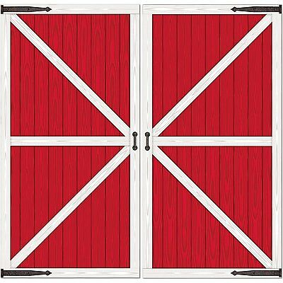 Barn Door Props Party Accessory (1 count) (2/Pkg) , New, Free Shipping