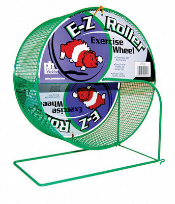 Prevue Pet Products Wire Mesh Ferret/Guinea Pig Exercise E-ZRoller Wheel 11 Inch