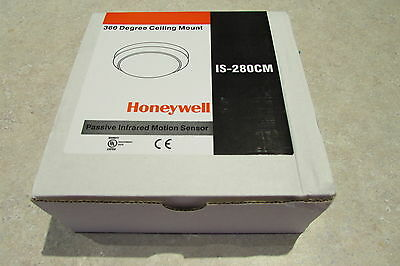 Honeywell IS-280CM Ceiling Mount Commercial 360 PIR Motion Detector New In Box
