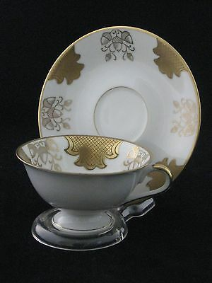 Bavaria Mitterteich Fine Porcelain Tea Cup & Saucer Set Germany