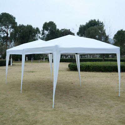 3X6M POP UP Gazebo Wedding Party Tent Canopy Marquee Waterproof W/Carry Bag