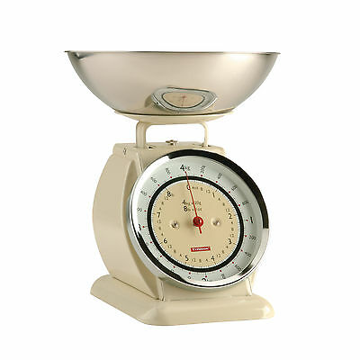 Typhoon Bella Scales Cream 1400.002 Kitchen Cooking Weighing Measuring Scale 4kg