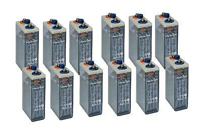12x OPzS TYS9 2V Cell, For Renewable Battery Storage / Solar 2Volt Batteries