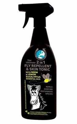 ULTIMATE 2-IN-1 FLY REPELLENT AND SKIN TONIC 750ml/5Lt horse stable environment