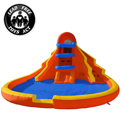 Double Water Slide Pool Bounce House Jumper Bouncer Inflatable Only