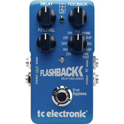 TC Electronic Flashback Delay Guitar Effects Pedal