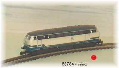 Märklin 88784 diesel locomotive BR 216 DB ocean blue/beige # in #