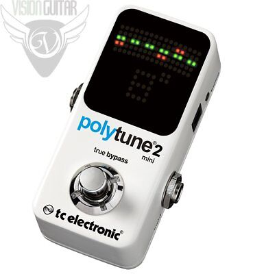 TC Electronic Polytune 2 MINI Chromatic Polyphonic Tuner