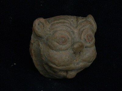 Ancient Teracotta Bactrian Lion Head 300 BC   #S2737