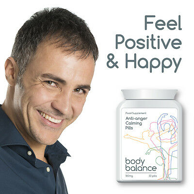 Body Balance Anti Anger Calming Pill Tablet Feel Positive And Happy Positive