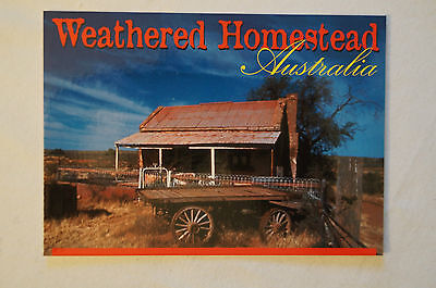 Weathered Homestead - Australia - Collectable - Postcard.